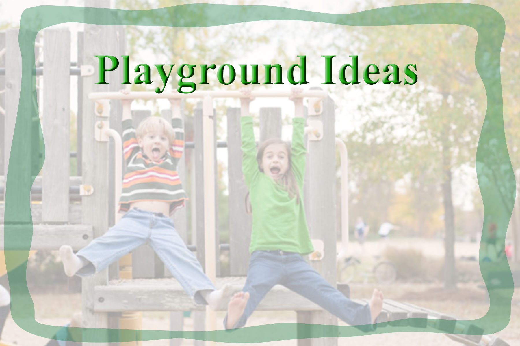 indoor playground ideas