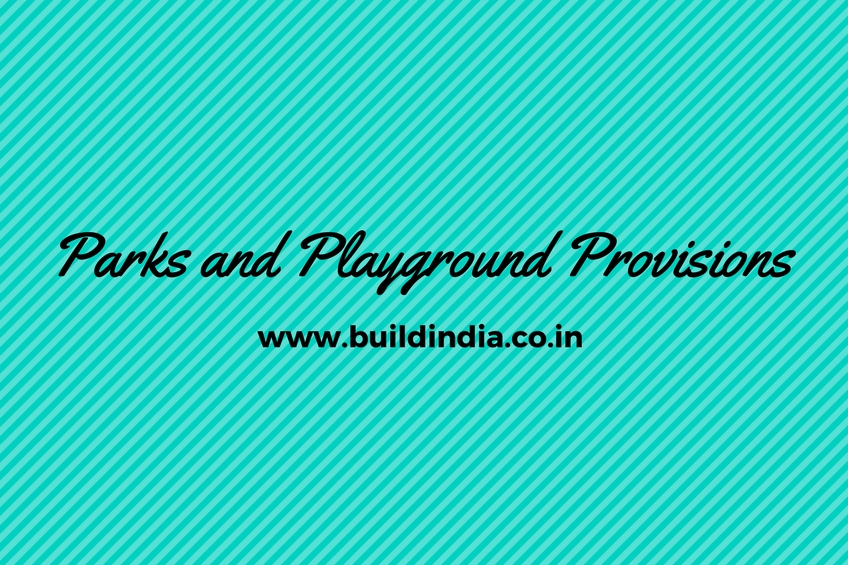 Parks and Playground Provisions