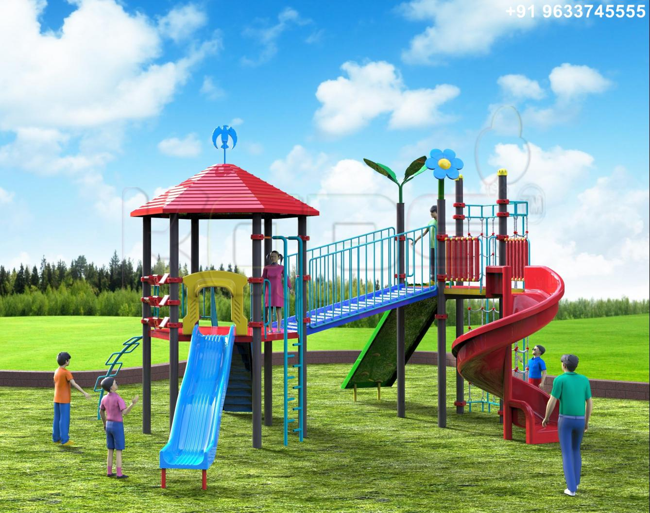 Kaps2009 Outdoor And Indoor Playground Equipments India